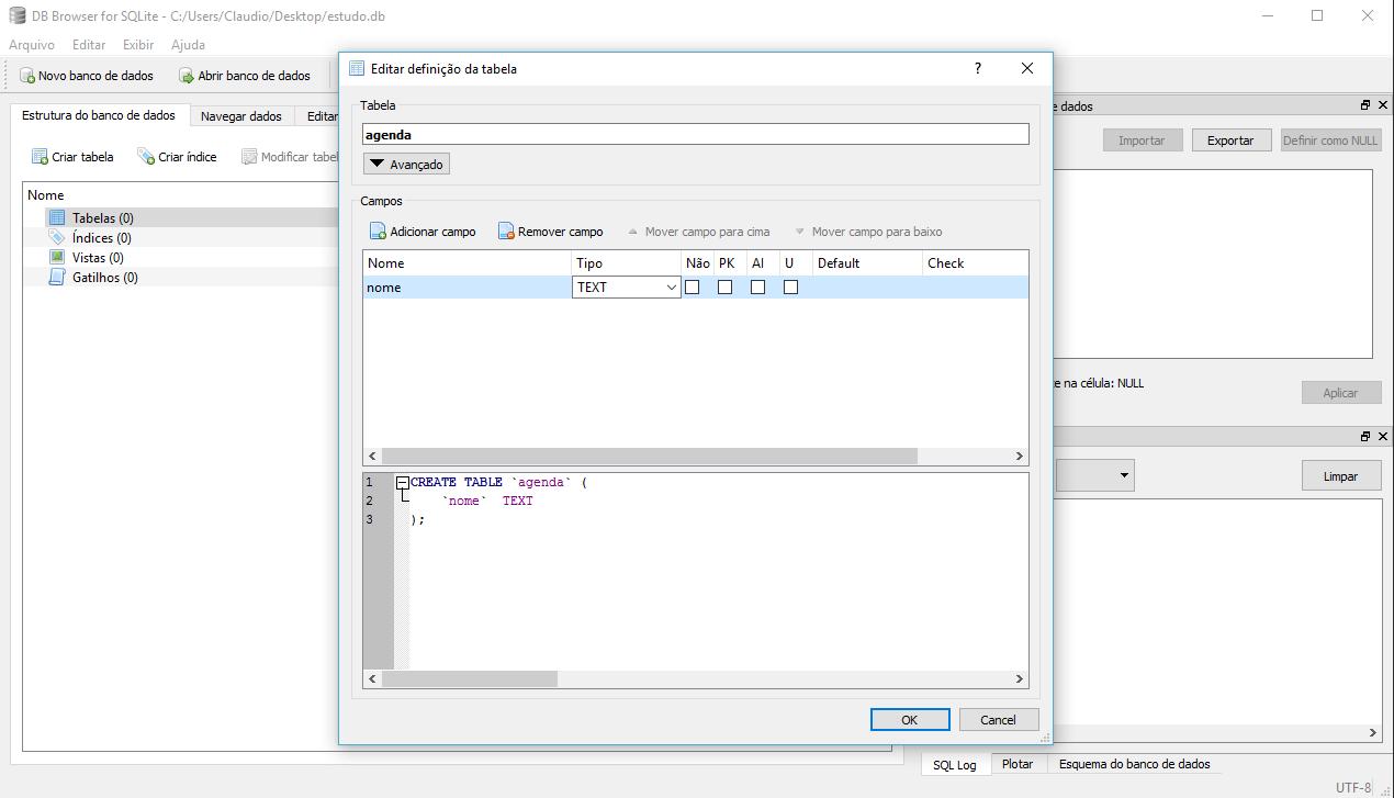 DB Browser SQL - eXcript